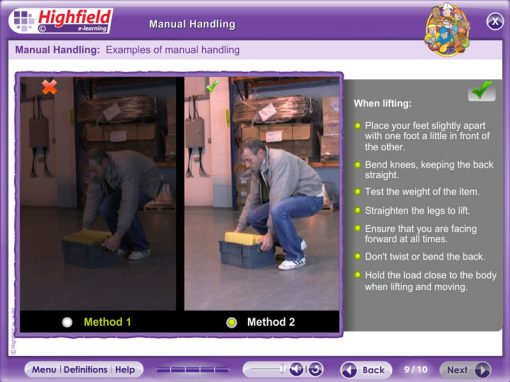 Manual Handling Courses